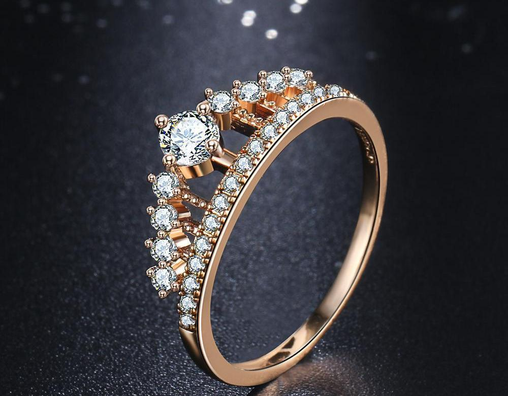 Crystal Crown Ring - CrazyPassionateAbout.com