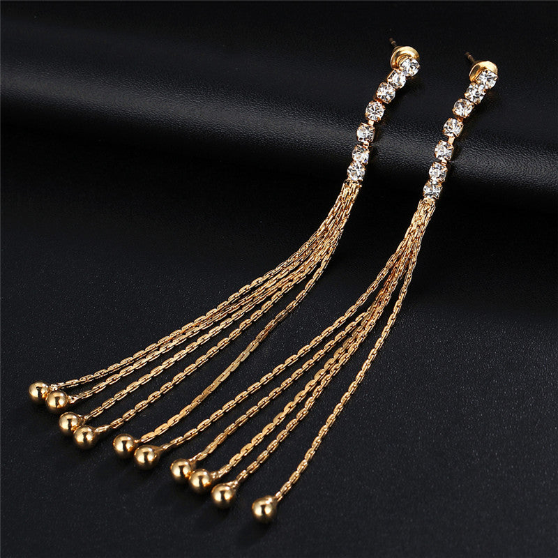 Long Statement Drop Earrings - CrazyPassionateAbout.com