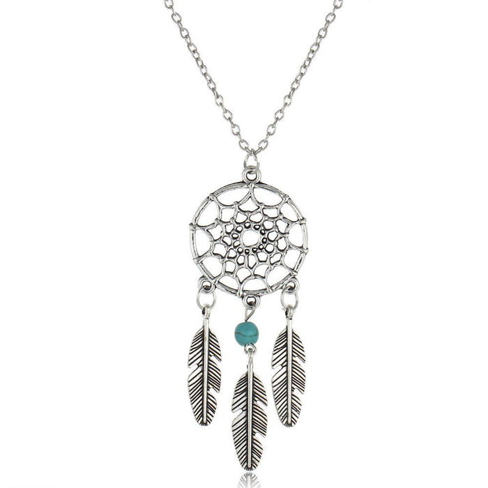 Vintage Dream Catcher Necklace - CrazyPassionateAbout.com