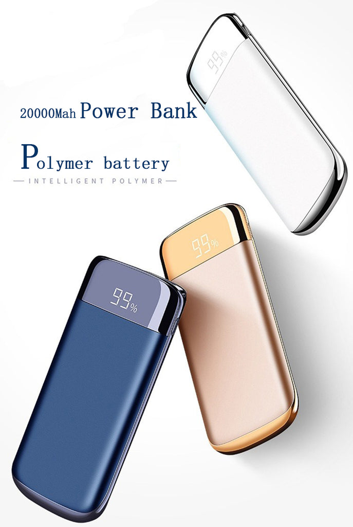 2 USB LCD Powerbank - CrazyPassionateAbout.com