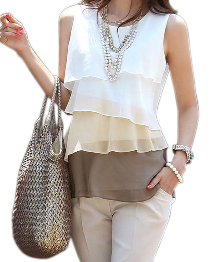 Casual Chiffon Blouse - CrazyPassionateAbout.com