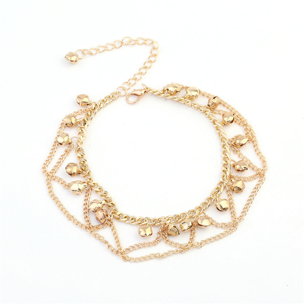 Chain Bells Anklet - CrazyPassionateAbout.com