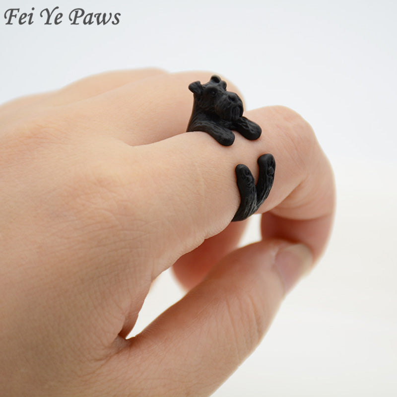 Schnauzer Dog Ring - CrazyPassionateAbout.com