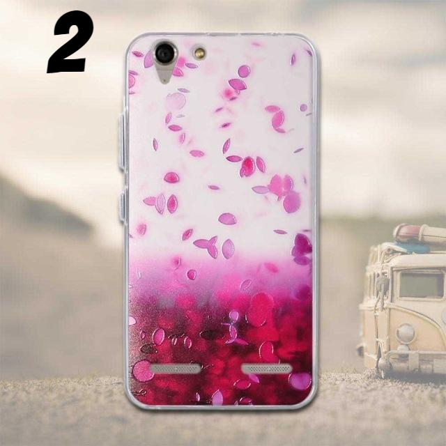 Silicon Flowers Case For Lenovo A6020 - CrazyPassionateAbout.com