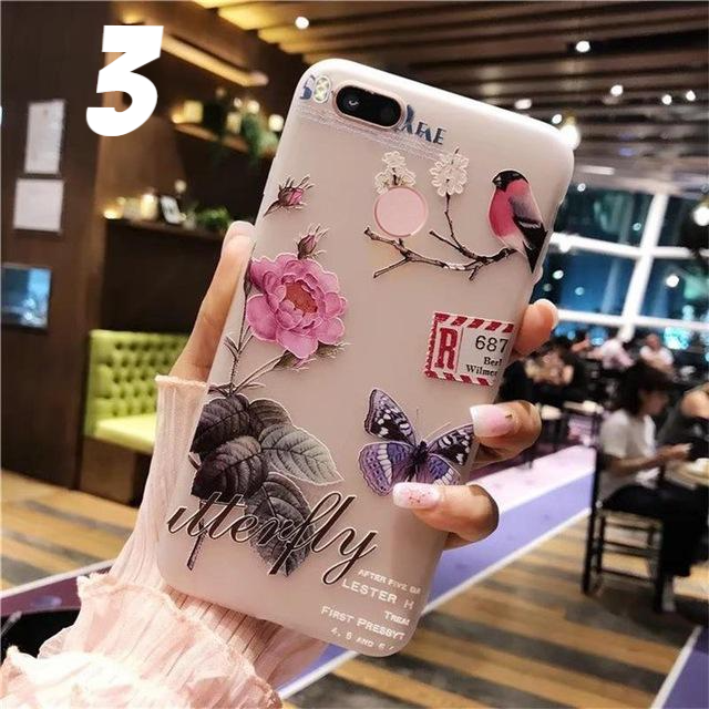 3D Relief Cover Case For Xiaomi - CrazyPassionateAbout.com