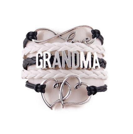 Infinity Love Grandma Bracelet - CrazyPassionateAbout.com