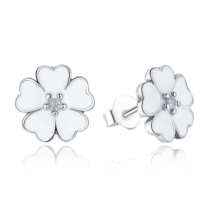 Primrose Flower Earrings - CrazyPassionateAbout.com