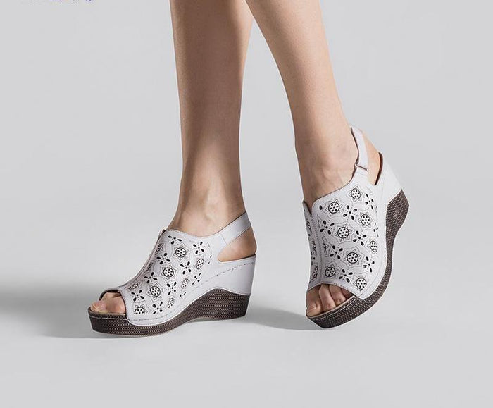 Summer Wedge Heels - CrazyPassionateAbout.com