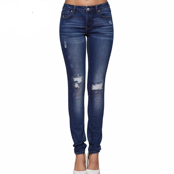 Ripped Skinny Jeans - CrazyPassionateAbout.com