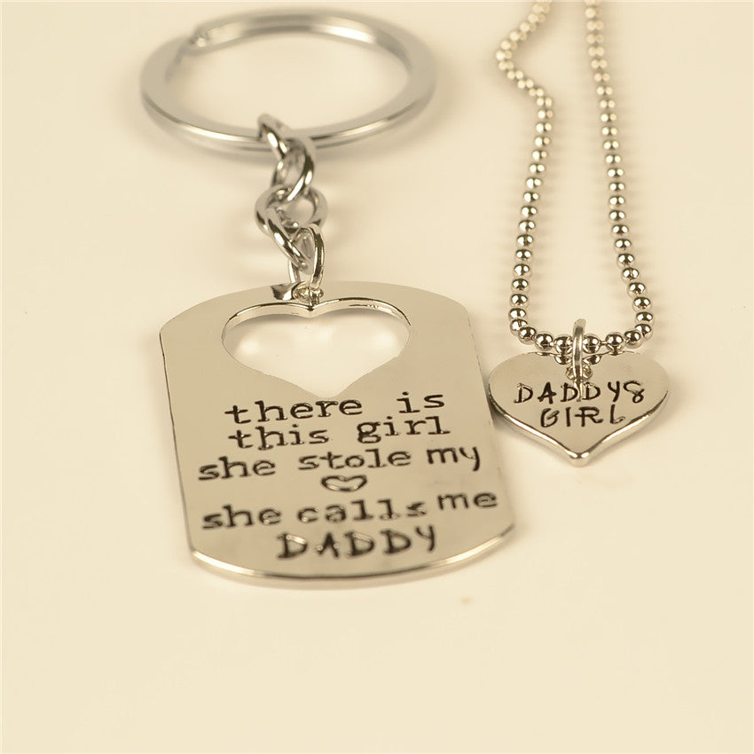 Daddy's Girl Necklace - CrazyPassionateAbout.com