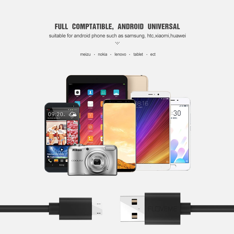 Micro USB Cable 5V/2A - CrazyPassionateAbout.com