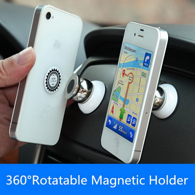 Magnetic Air Vent Phone Holder - CrazyPassionateAbout.com