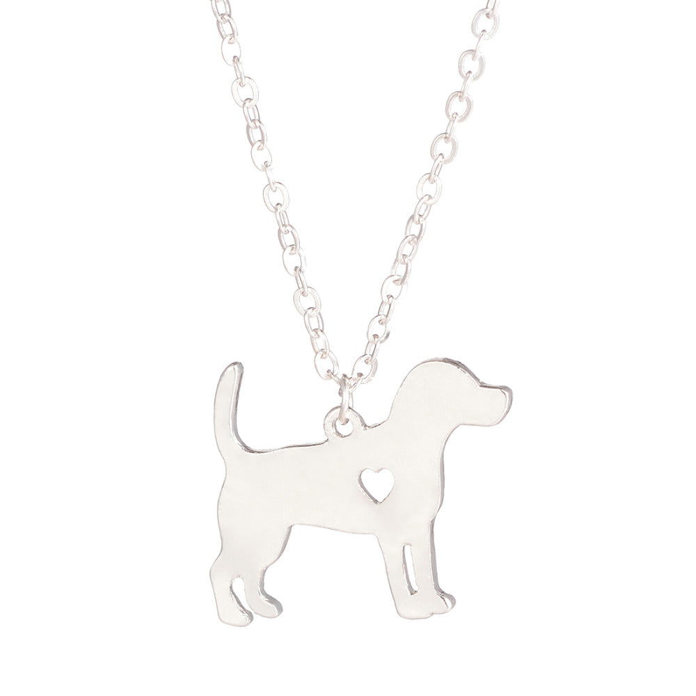 Beagle Dog Pendant Necklace - CrazyPassionateAbout.com