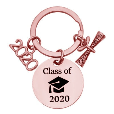 Class of 2020 Graduation Gift Keychain - CrazyPassionateAbout.com