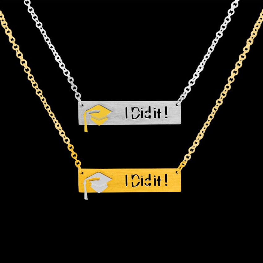 Attractive High Quality Stainless Steel Graduation Necklace - CrazyPassionateAbout.com
