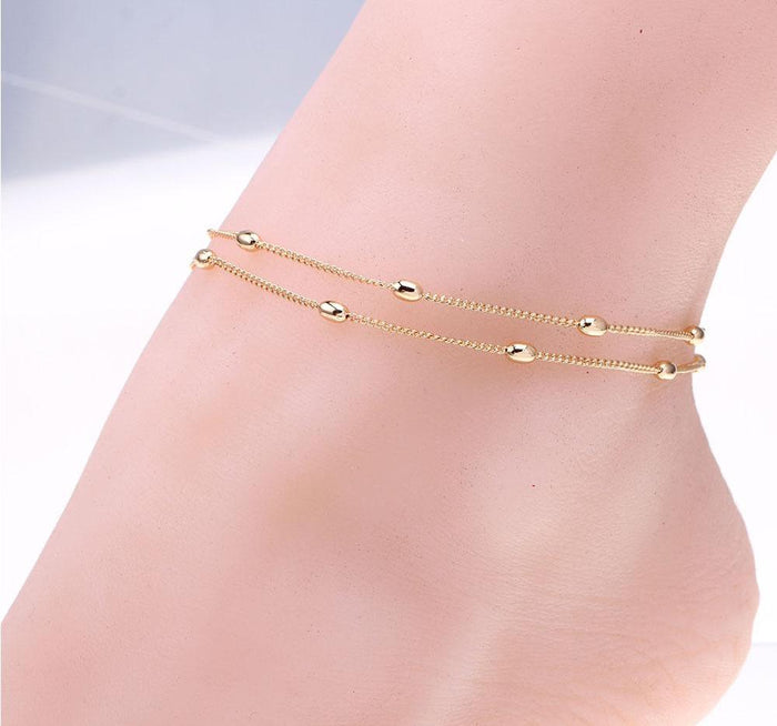 Simple Chain Anklet - CrazyPassionateAbout.com