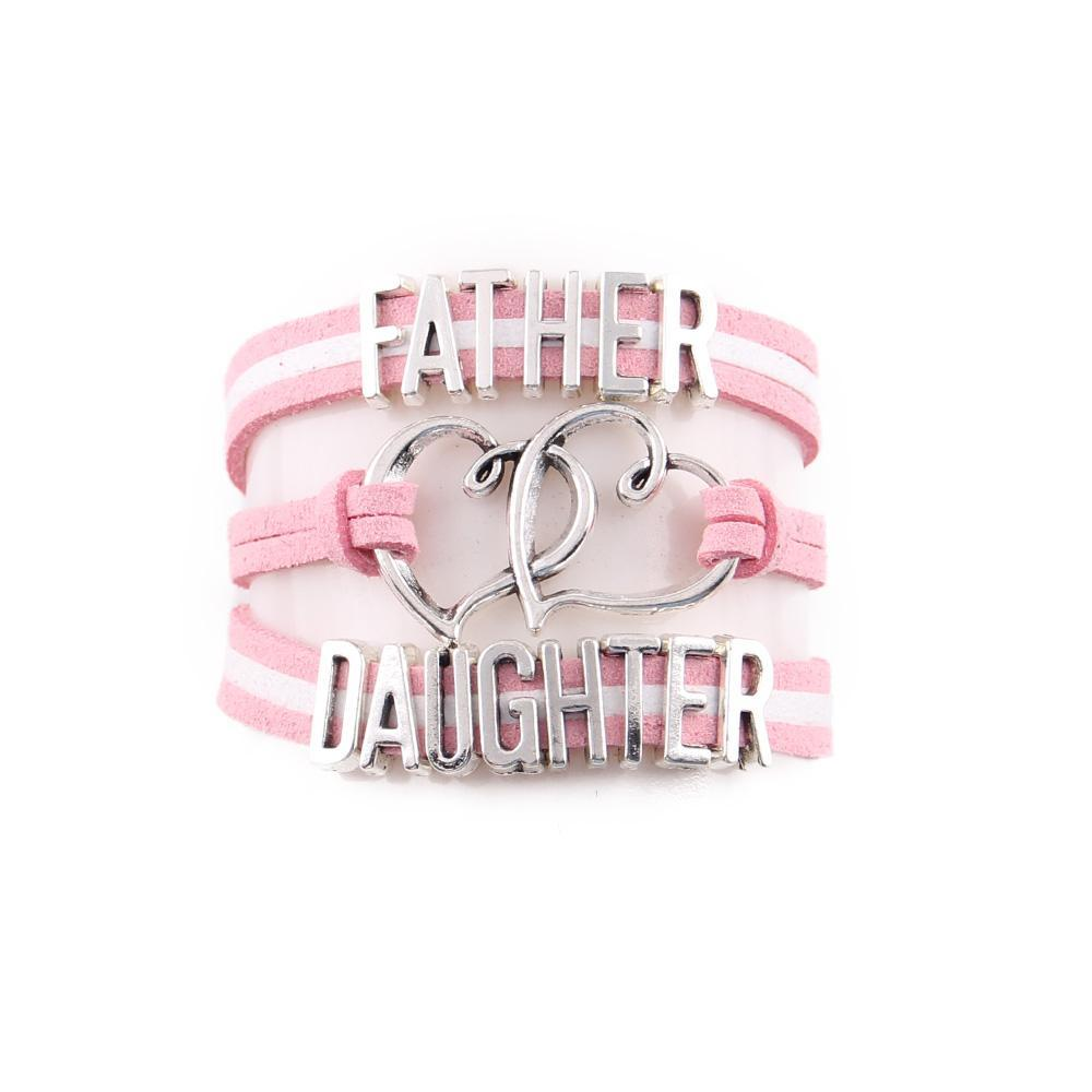 Father Heart Daughter Bracelet - CrazyPassionateAbout.com
