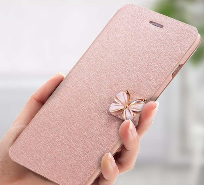 Crystal Bow-Knot Butterfly Case - CrazyPassionateAbout.com