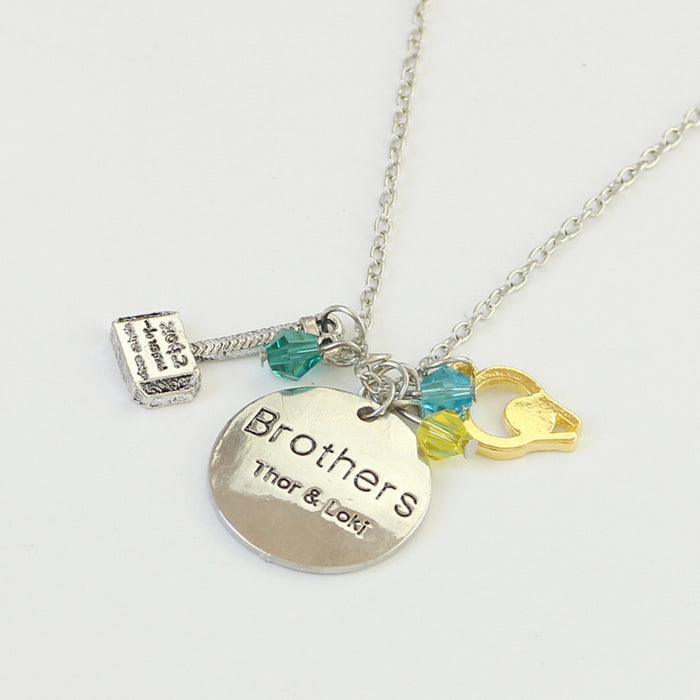 The Avengers Brother Necklace - CrazyPassionateAbout.com