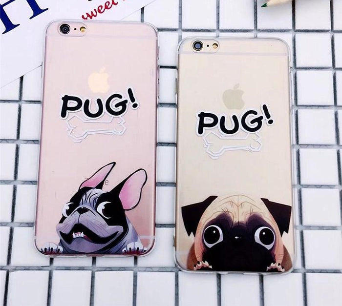 Pug Pocket Phone Case For iPhone - CrazyPassionateAbout.com