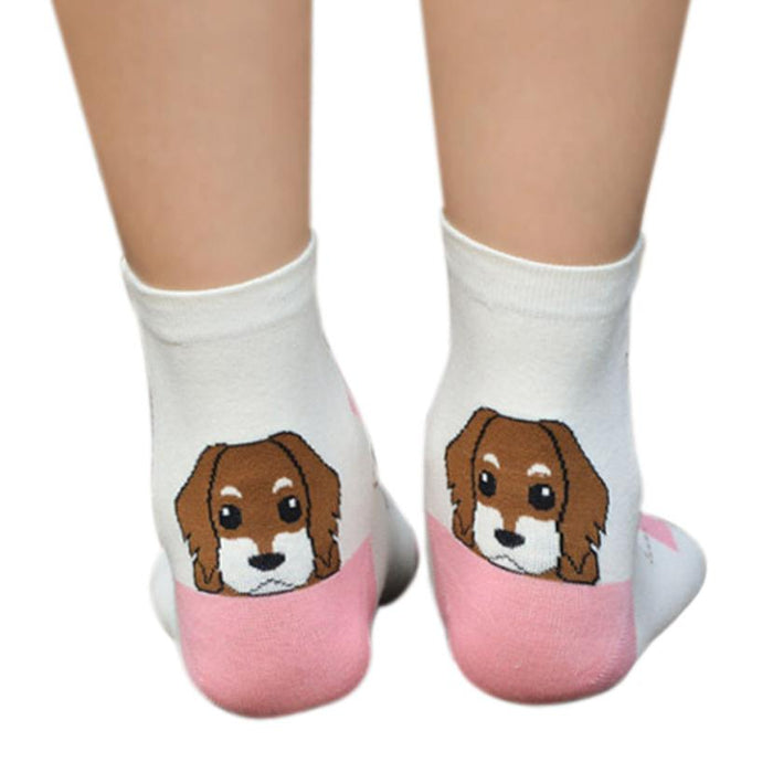 Beagle Short Cotton Socks - CrazyPassionateAbout.com