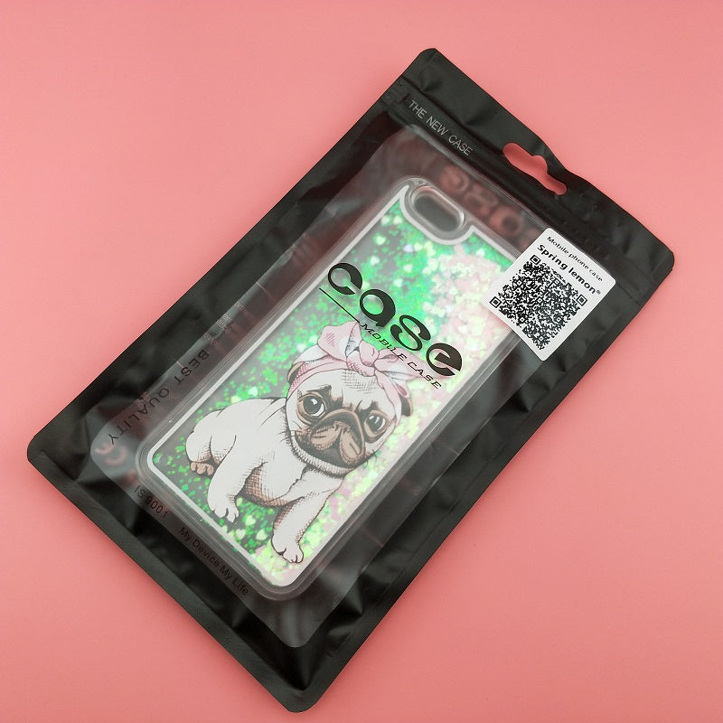 Pug Glitter Case For iPhone - CrazyPassionateAbout.com