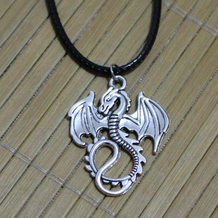 Vintage Monster Dragon Necklace - CrazyPassionateAbout.com
