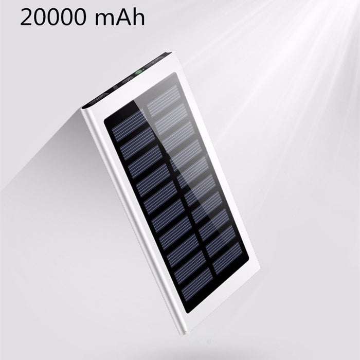 20000mAh Portable Solar Charger - CrazyPassionateAbout.com