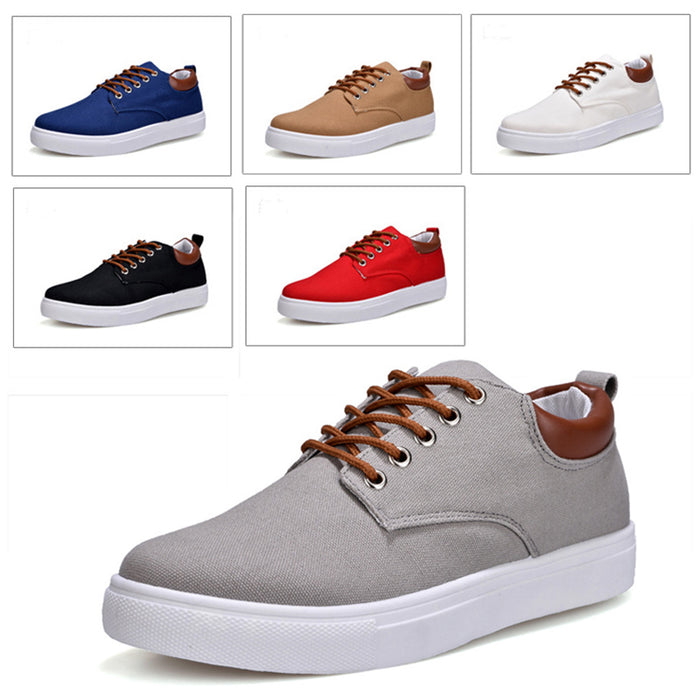Canvas Shoes For Men - CrazyPassionateAbout.com