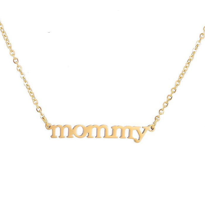 Love Mom Necklace - CrazyPassionateAbout.com