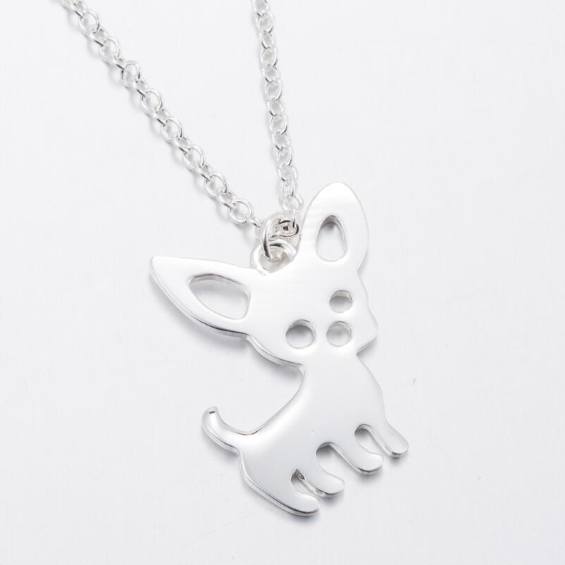 Chihuahua Pendant Necklace - CrazyPassionateAbout.com