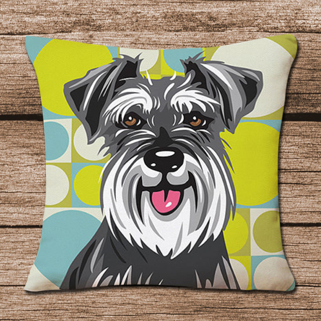Schnauzer Pillow Cases - CrazyPassionateAbout.com
