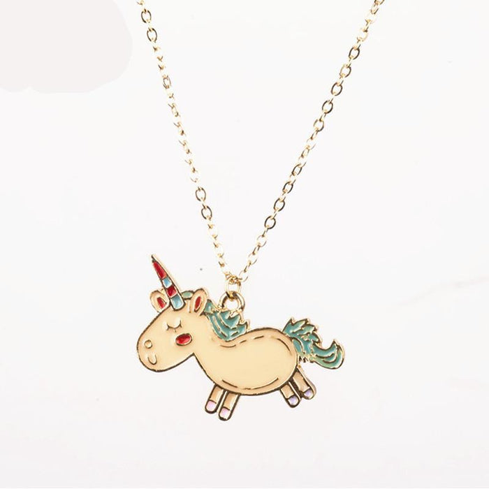 Cute Unicorn Necklace - CrazyPassionateAbout.com