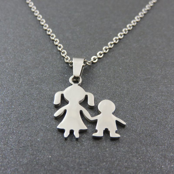 Together Sister and Brother Necklace - CrazyPassionateAbout.com