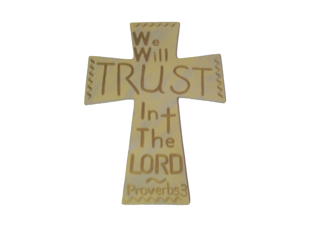 We Will Trust In The Lord Bible Verse Decor - CrazyPassionateAbout.com