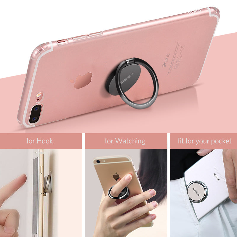 Finger Phone Ring Holder - CrazyPassionateAbout.com
