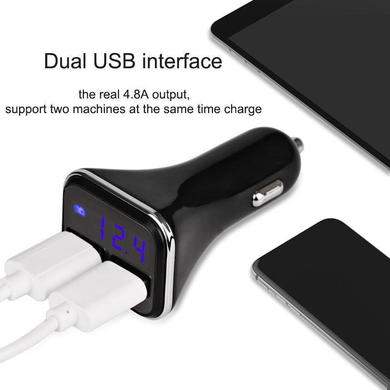 USB Car Charger For Mobile Phone - CrazyPassionateAbout.com