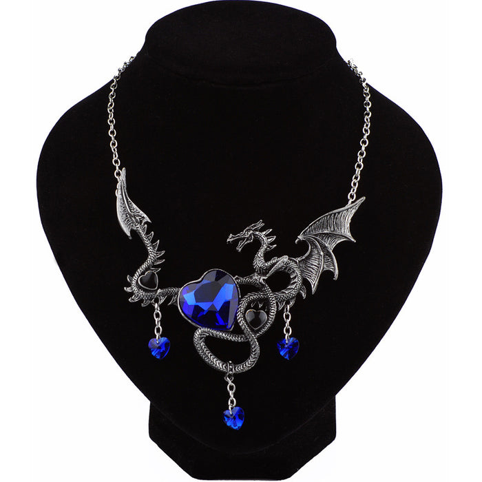Vintage Fly Dragon Necklace - CrazyPassionateAbout.com