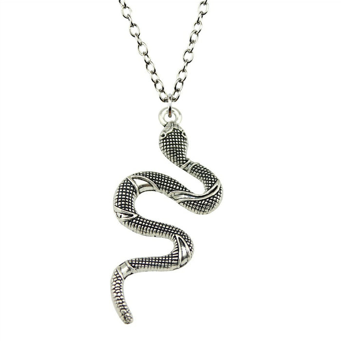 Antique Snake Necklace - CrazyPassionateAbout.com
