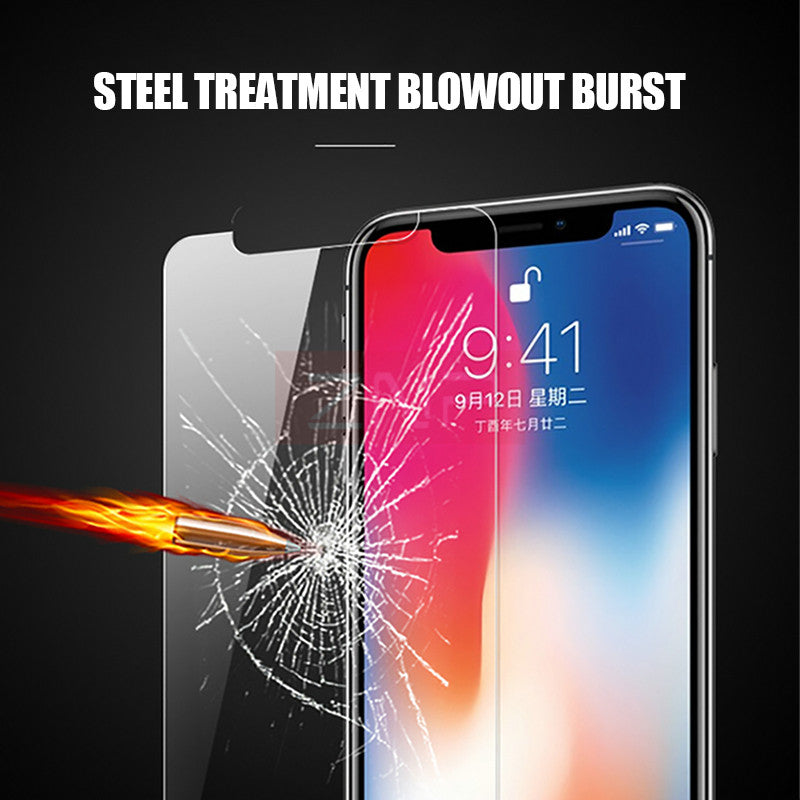 9H Premium Tempered Glass For iphone - CrazyPassionateAbout.com