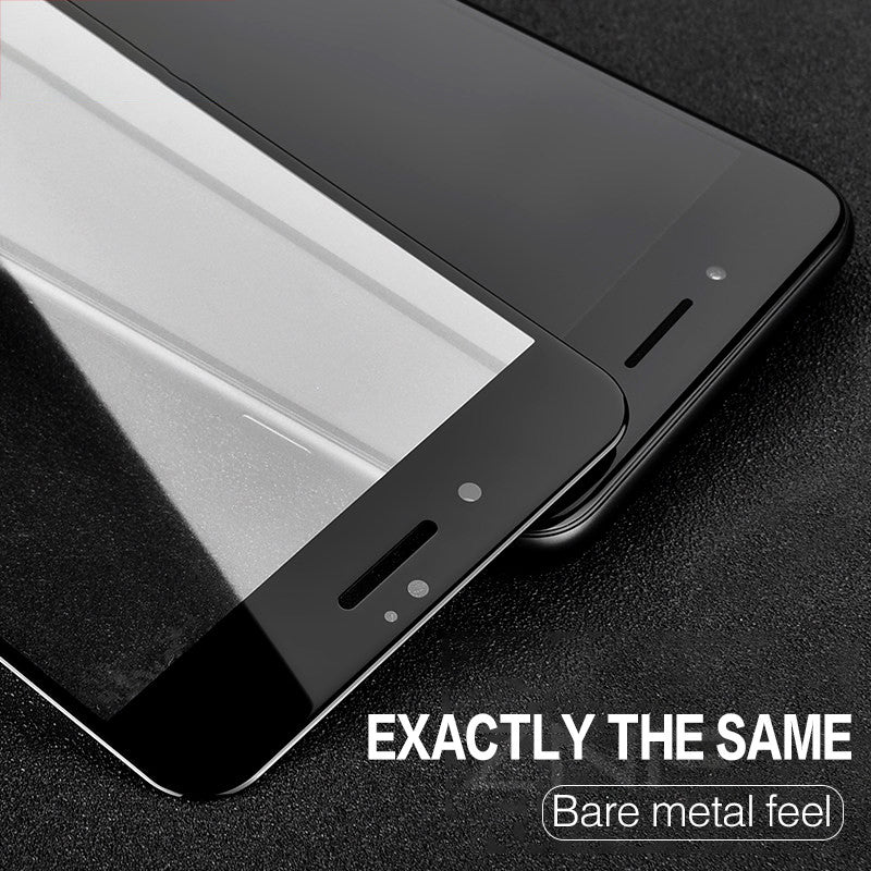 4D Curved Full Cover Tempered Glass for iPhone - CrazyPassionateAbout.com