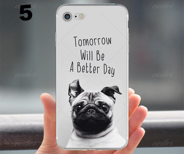 Dog Silicone Phone Cases for IPhone - CrazyPassionateAbout.com