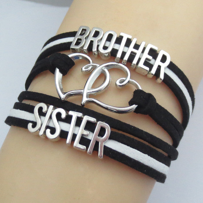Infinity Brother & Sister Bracelet - CrazyPassionateAbout.com