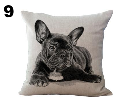 Bulldog Digital Print Pillow Case - CrazyPassionateAbout.com