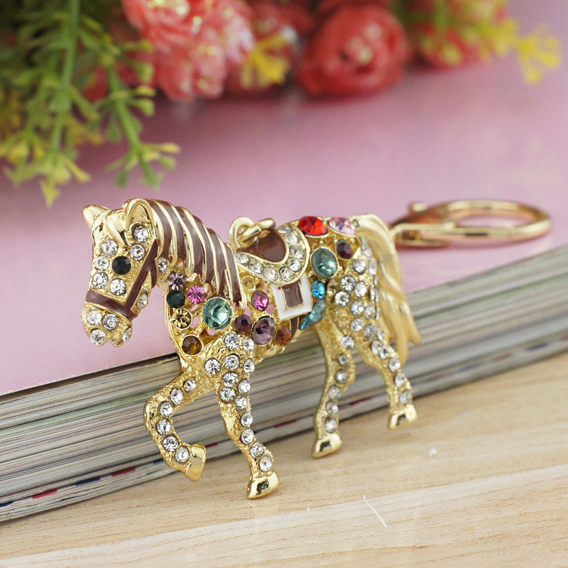 Multicolor Horse Key Holder - CrazyPassionateAbout.com