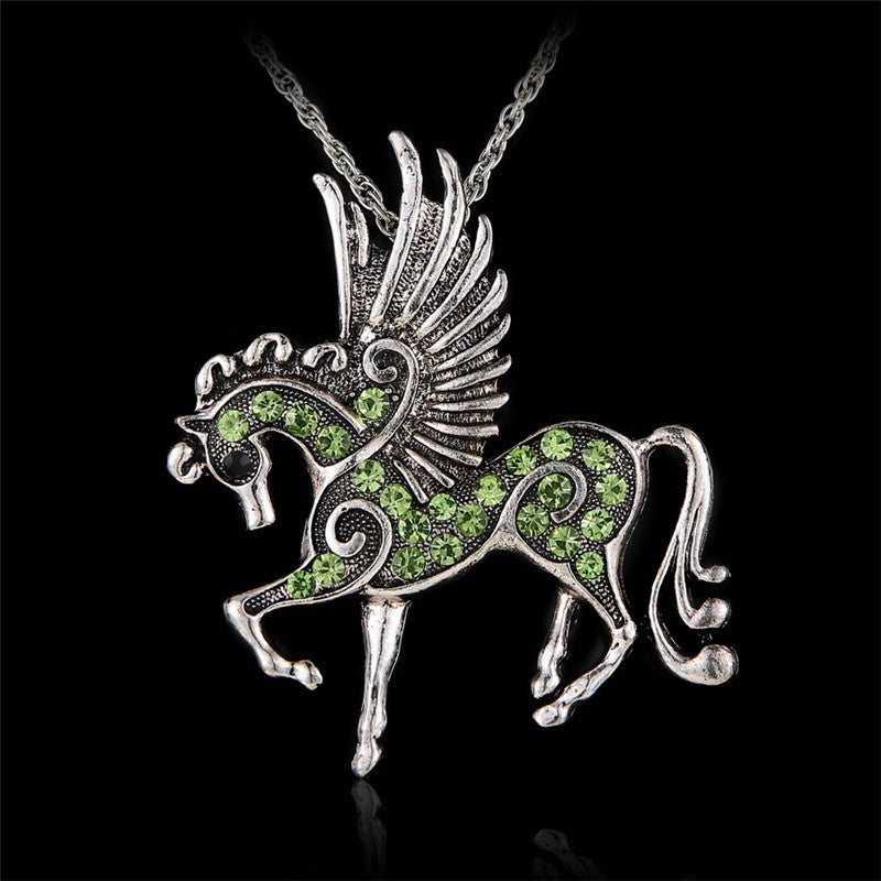 Crystal Pegasus Flying Horse - CrazyPassionateAbout.com
