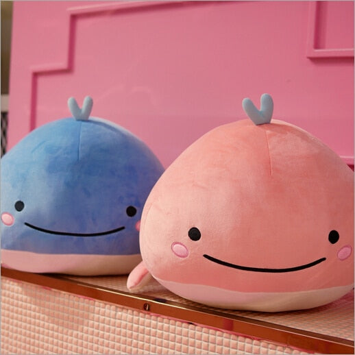 Soft Plush Dolphin Pillow With Down Cotton - CrazyPassionateAbout.com