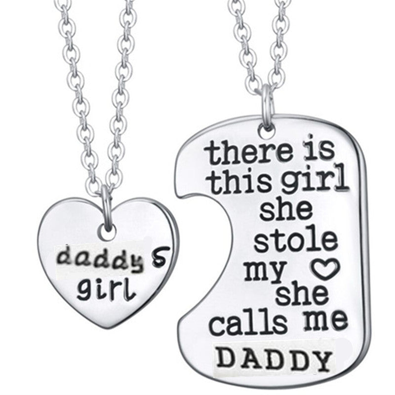 """She Stole My Heart"" Pendant Necklace - CrazyPassionateAbout.com"