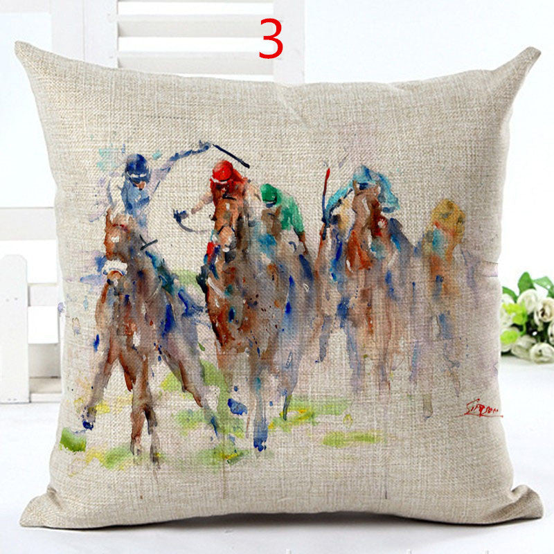 Horse Decorative Pillow Cover - CrazyPassionateAbout.com