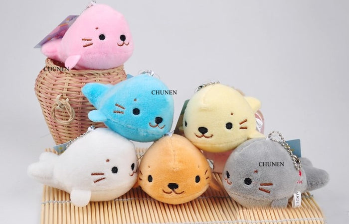 ALL 6Colors, Small Dolphin Ocean Animal  Stuffed Plush Dolls Toys - CrazyPassionateAbout.com